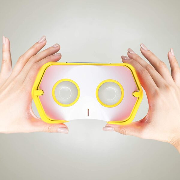 DSCVR VR Headset   The Best Virtual Reality Glasses for iPhone and Android   Google Cardboard v2 Inspired