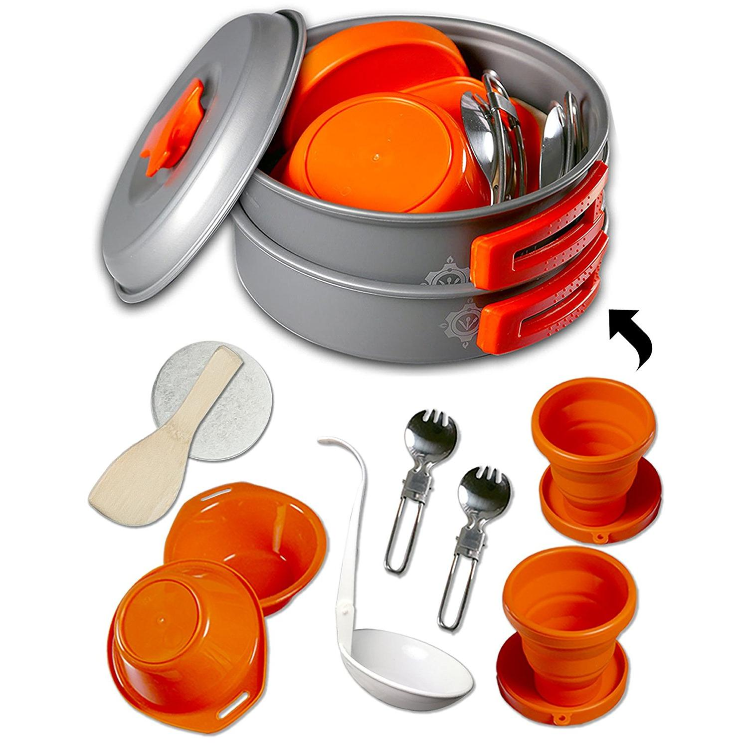Gear4U Camping Cookware Mess Kit