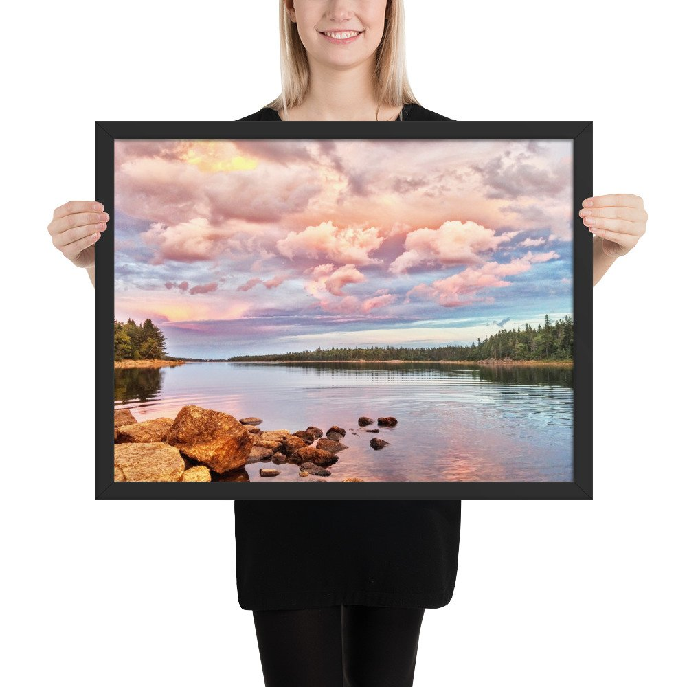 Framed Photo Long Lake