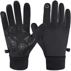 Winter Gloves Touch Screen Gloves Warm Waterproof Windproof Non-Slip Lightweight for Women and Men Running,Walking,Cycling,Driving in Cold Weather