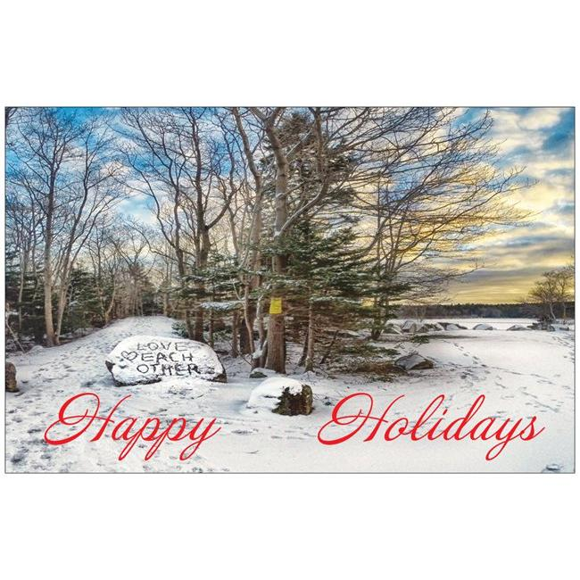 Long Lake Provincial Park Christmas Card