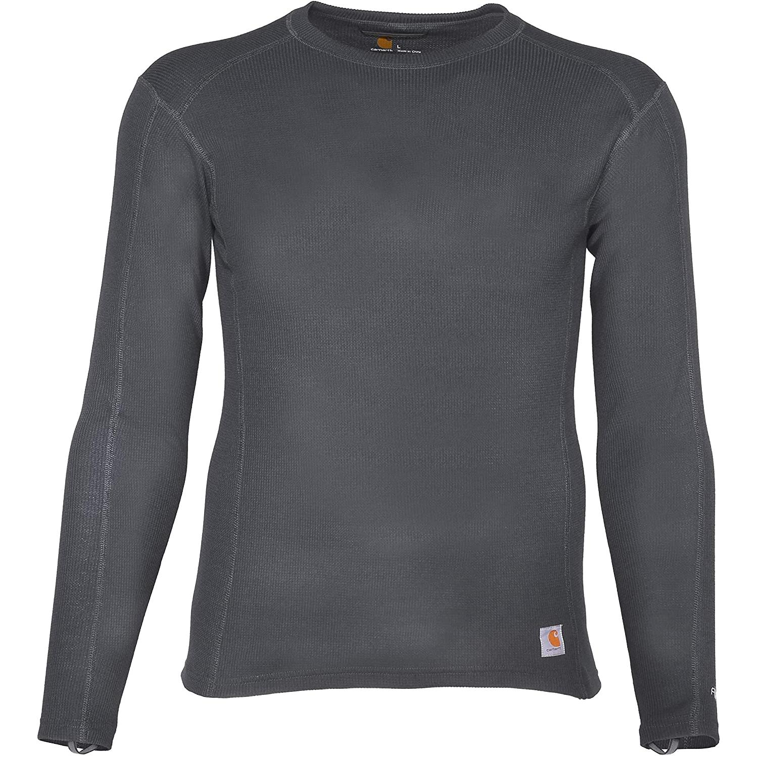 Carhartt Mens Base Force Midweight Classic Thermal Base Layer Long Sleeve Shirt Base Layer
