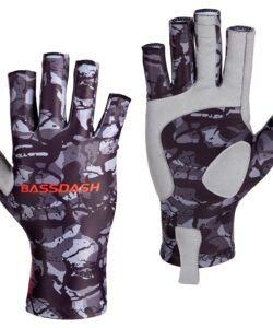 Fingerless Gloves for Paddling, Fishing & Cycling