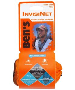Ben's InvisiNet Mosquito, Tick and Insect Repellent Head Net