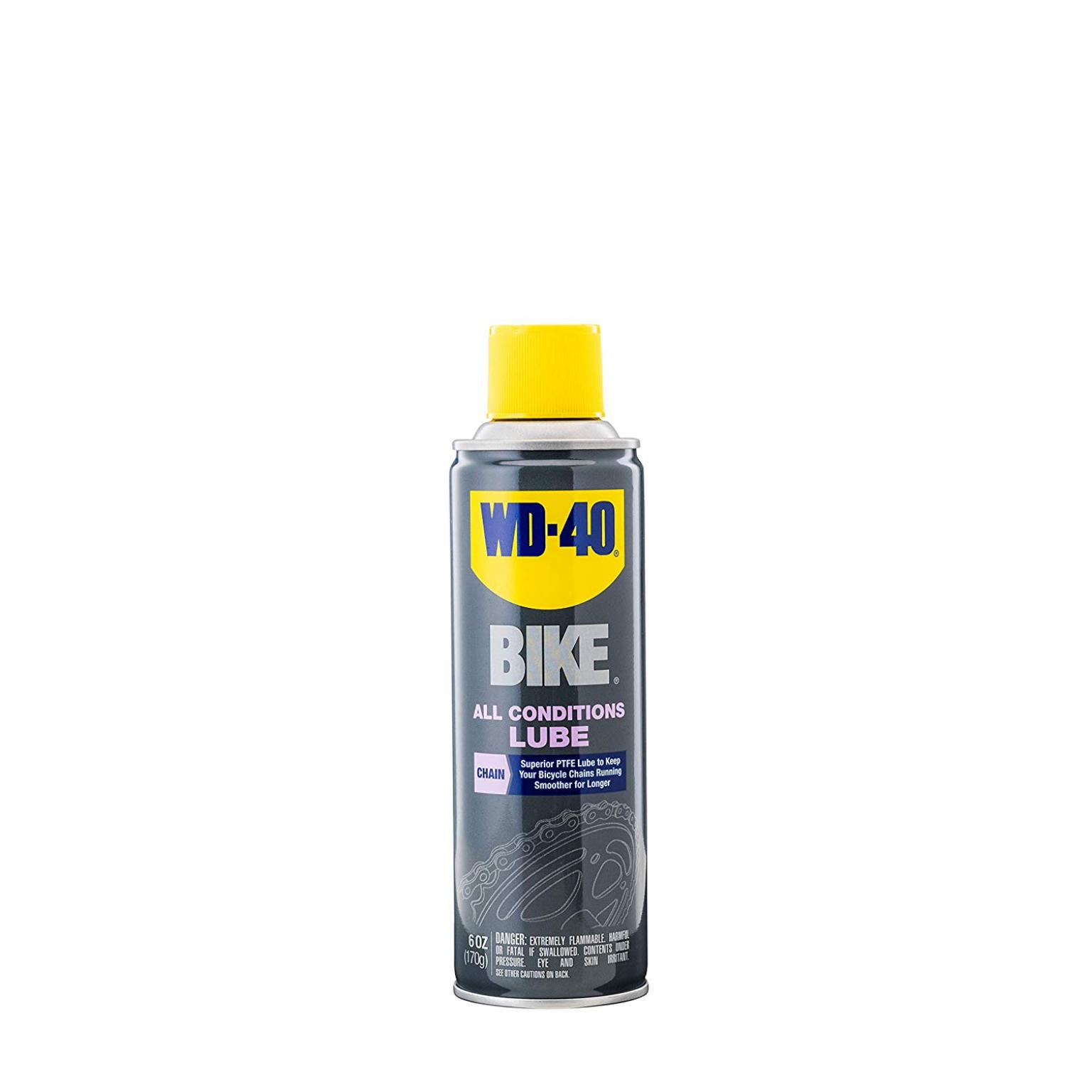 WD-40 Bike, All Conditions Lube