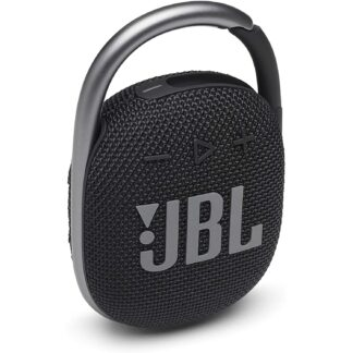 Roll over image to zoom in JBL Clip 4 Waterproof Portable Bluetooth Speaker with up to 10 Hours of Battery