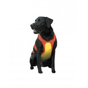 Remington Orange Chest Protector for Dogs