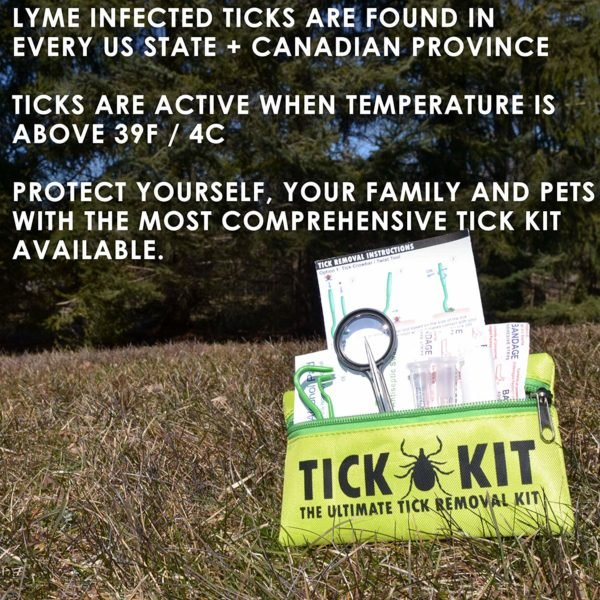 Tick Remover Tool Kit For Humans And Pets