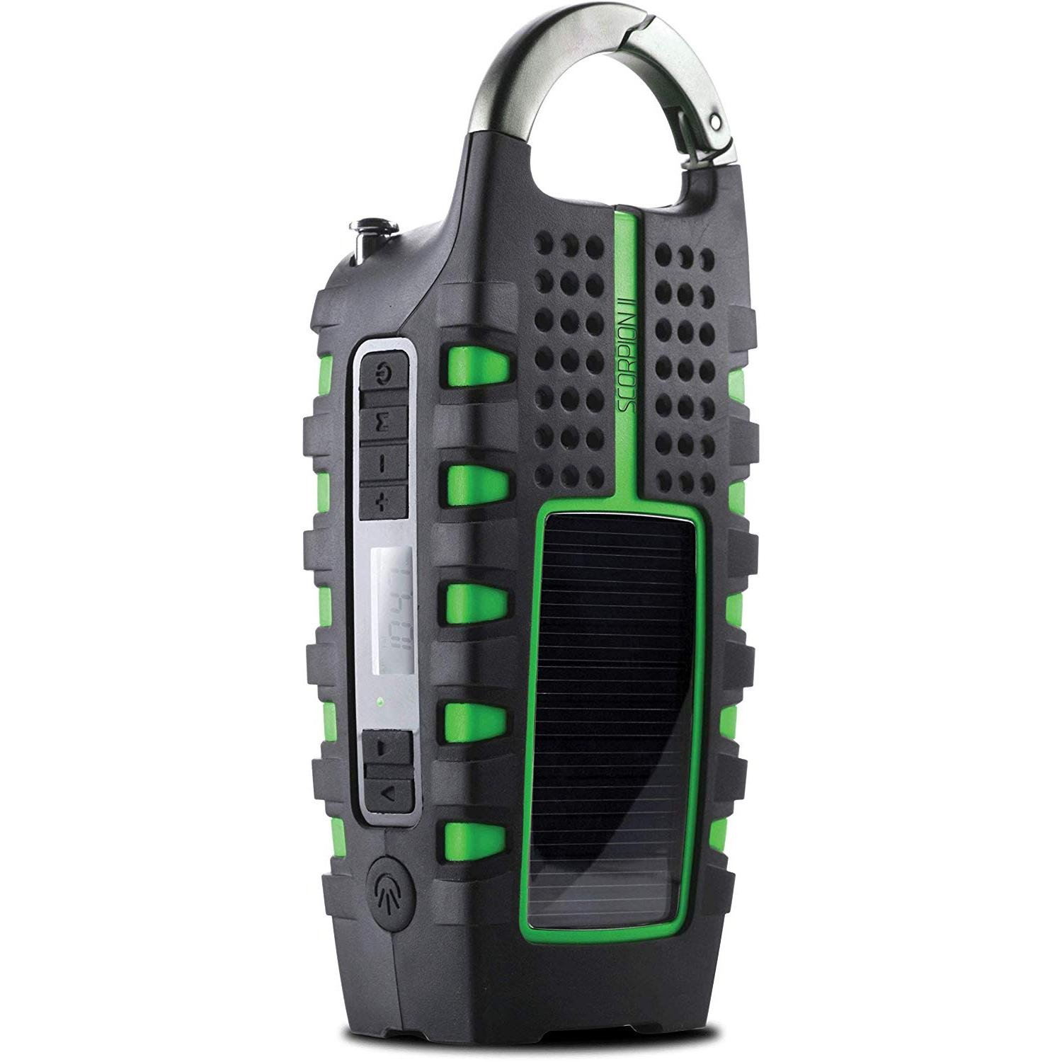Multipowered Portable Emergency Weather Radio & Flashlight