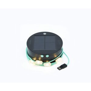 MPOWERD Luci Solar String Lights + Phone Charger with 100 Lumens