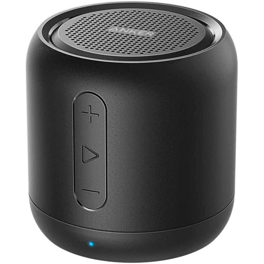 Anker SoundCore Mini, Super-Portable Bluetooth Speaker with 15-Hour Playtime, 66-Foot Bluetooth Range, Enhanced Bass-Black