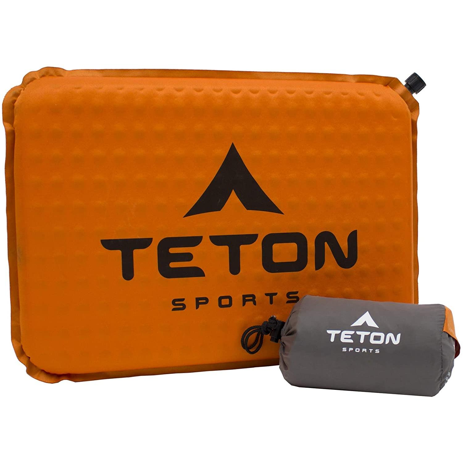 TETON Sports Camping Seat Cushion; Stadium Seat; Office Chair; Car Pad; Inflatable