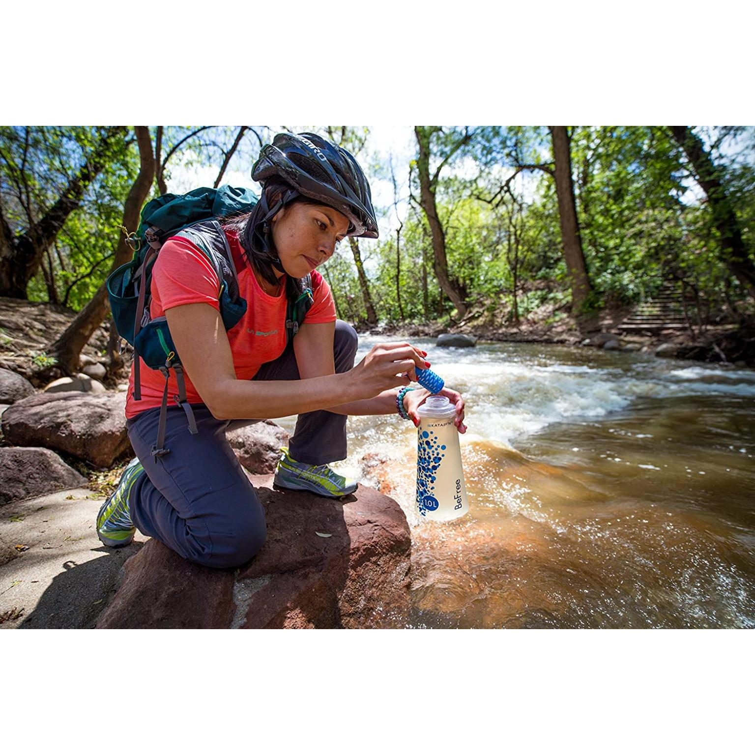Katadyn Befree Water Microfilter with Hydrapak 1.0l Flask