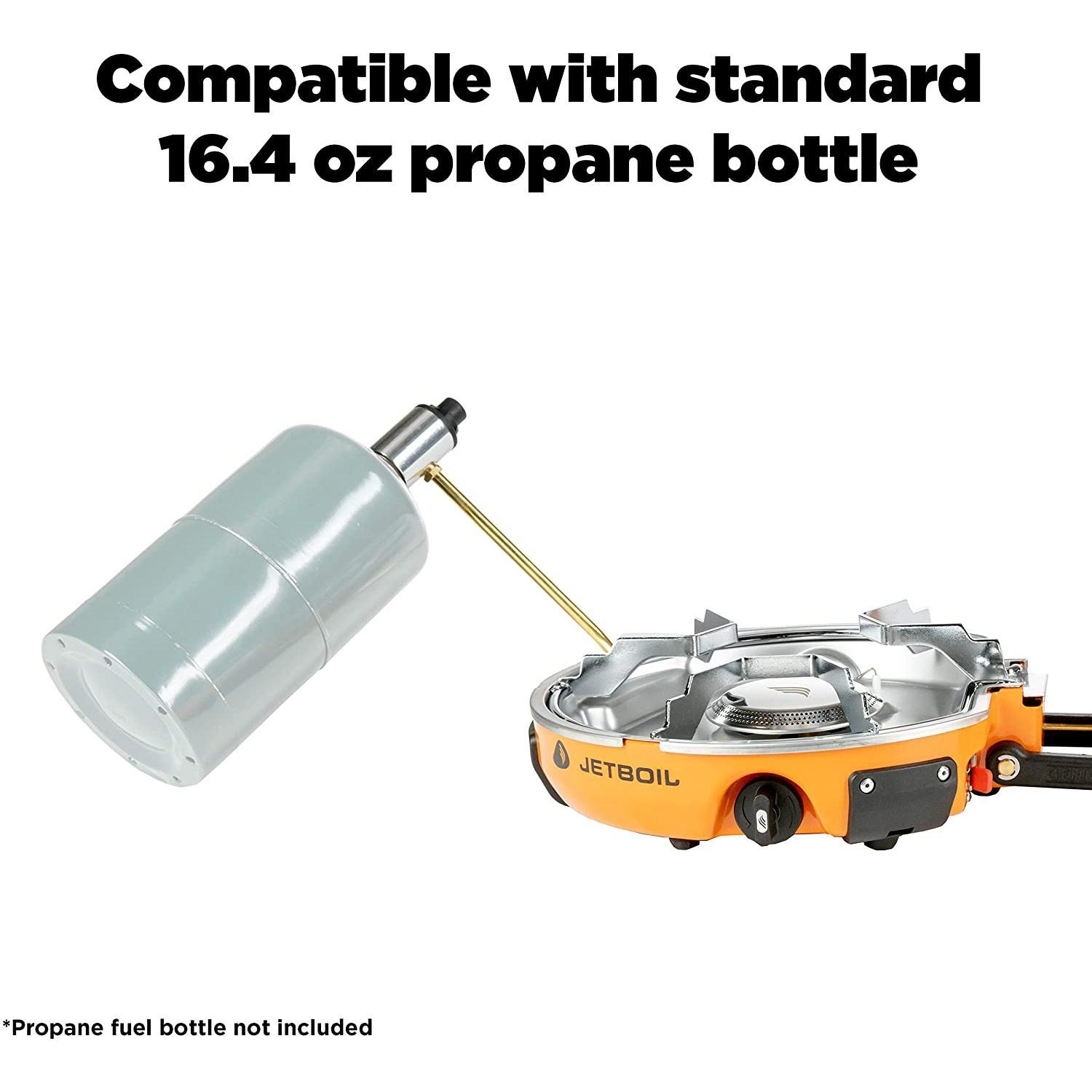 Jetboil Genesis Basecamp Backpacking and Camping Stove Cooking System with Camping Cookware
